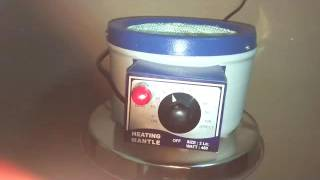 Heating mantle operating manual