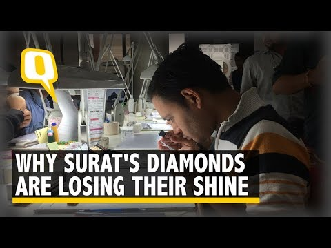 Surat's Diamonds Lose Sparkle: Workers Flounder Amid Mass Layoffs | The Quint