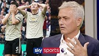 """""""Man Utd could struggle to finish in the top 6""""   Jose Mourinho on Man Utd's current form"""