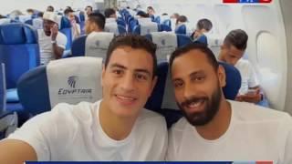كورة كل يوم   هاتفيآ مصطفي الجويلي و اخبار سارة من بعثة  الزمالك من المغرب قبل مباراة الوداد