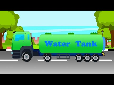 Water Tanker | Water Tank For Kids