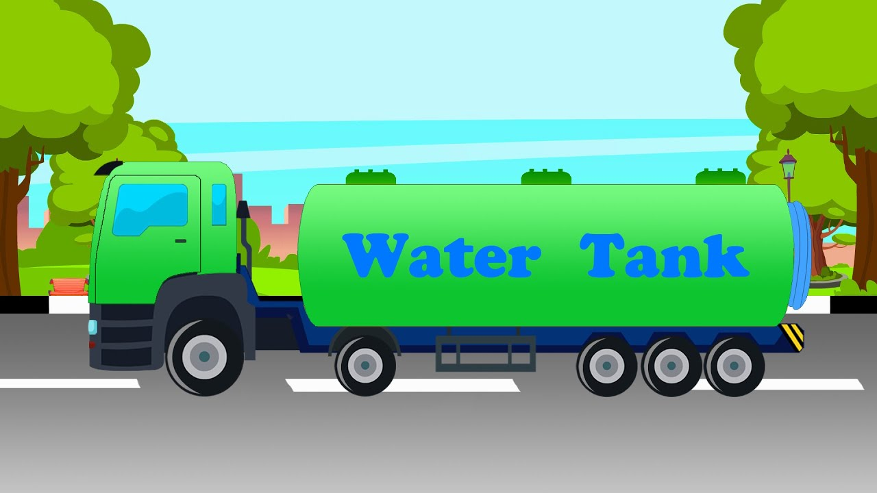 Water Tank For Kids - YouTube