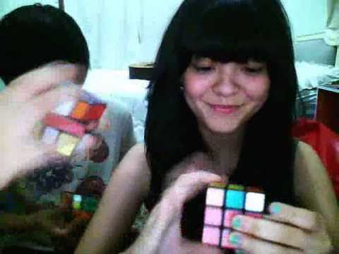 RUBIK'S CUBE RACE WITH MY BROTHERS | Sonia Eryka