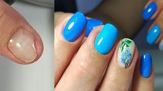 МАКСИРУЮ ПУСТОТУ РЕМОНТ ногтя ВЕСЕННИЙ маникюр 2020 Дизайн ногтей гель лаком