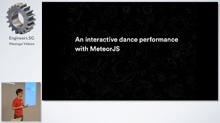 Meteor JS + Interactive dance performance - talk.js