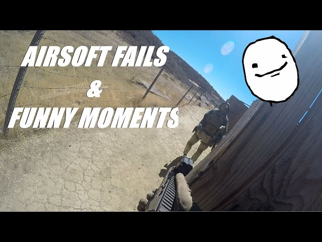AIRSOFT FAILS and FUNNY MOMENTS Ep 2