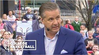 'I gained years back coaching this team' - John Calipari | College GameDay
