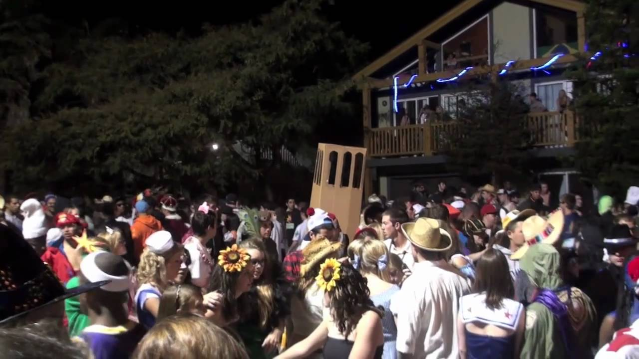 isla vista, santa barbara halloween 2010 - youtube
