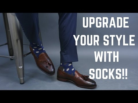 How to Style Bold Socks and Stand Out!