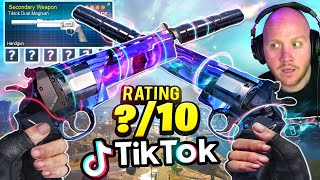 TIKTOK DUAL MAGNUMS! GUN REVIEW! Ft. Swagg, Nickmercs & Cloakzy