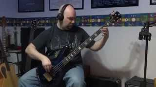 Ozzy Osbourne - Crazy Train Bass Cover