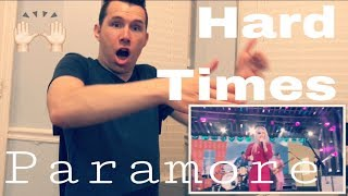 Paramore - Hard Times (Jimmy Kimmel Live) | REACTION