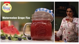 #GetSummerSips Watermelon Grape Fizz