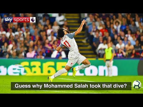 WHEN FAMOUS FOOTBALL PLAYERS DIVE IN FOOTBALL