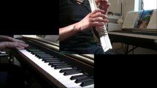 EWI3020とピアノでRing of Furtune.