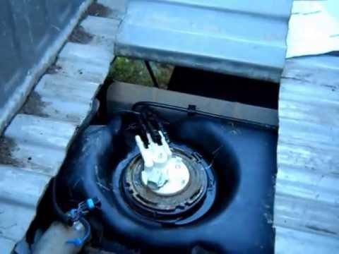 2006 Dakota Fuel Wiring Diagram Chevy Silverado Fuel Pump Change Out 2500hd 2001 Cutting