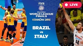 Brazil v Italy - Group 1: 2016 FIVB Volleyball World League