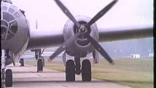 "B-29 ""FiFi"" Engine Start Up"