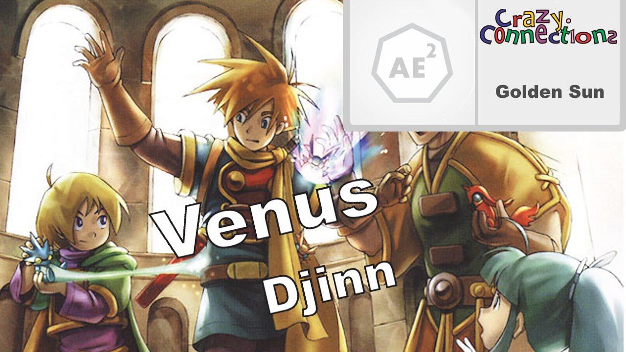 Golden Sun References - Venus Djinn - YouTube