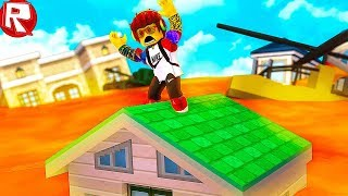 ROBLOKS FLOOR is LAVA! THE MOST SOPHISTICATED SIMULATOR IN ROBLOX FUNNY VIDEO GAME FOR KIDS