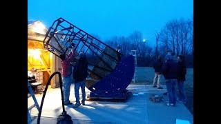 50-inch Telescope Installation