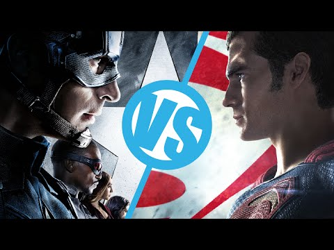 Captain America: Civil War VS Batman v Superman: Dawn of Justice : Movie Feuds ep169