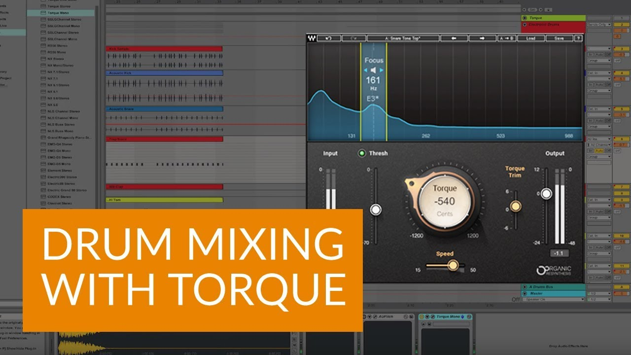 How to Tune Drums in the Mix with Waves Torque
