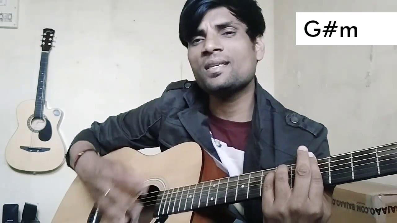 Dheere Dheere Se Meri Zindagi Me Aana Guitar Chords Strumming