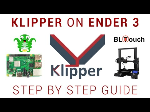 Using a 32 bit Raspberry Pi to boost your 3D printer mainboard - Klipper Ender 3 guide