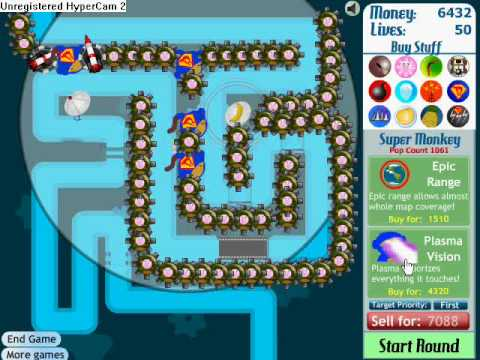 bloons tower defence 3 rounds 56-64