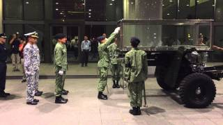 Rehearsal for Lee Kuan Yew State Funeral