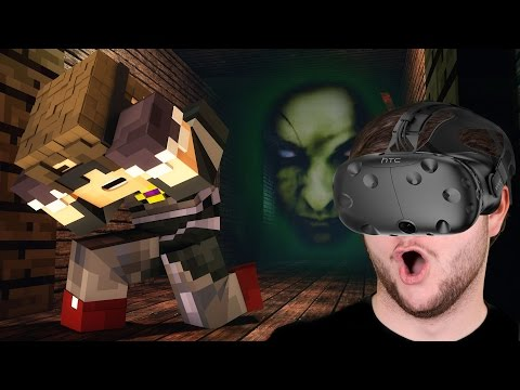 THE ORPHANAGE HORROR   VR Minecraft (HTC Vive Virtual Reality!)