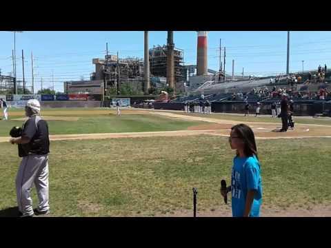 Bridgeport Blue Fish Baseball Game