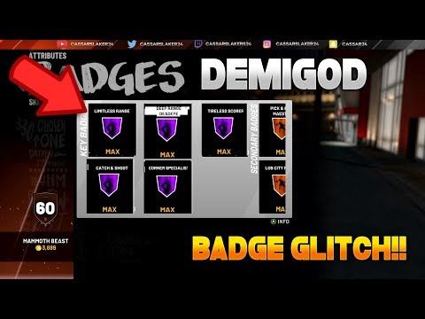 NBA 2K19' Badge Glitch - How to Get All Hall of Fame Badges