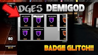 NBA 2K19 DEMIGOD GLITCH! PS4 AND XBOX - Get All HOF Badges in 15 mins! IN DEPTH TUTORIAL!