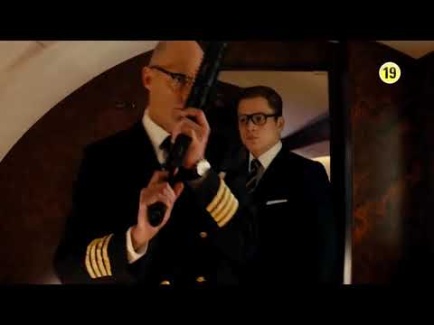 Eggsy Asking For Weapons To Merlin