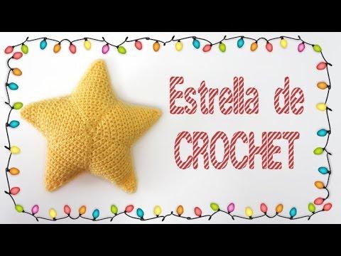 Tutorial Estrella Amigurumi Star : Estrellas de Navidad tejidas a crochet (amigurumi ...