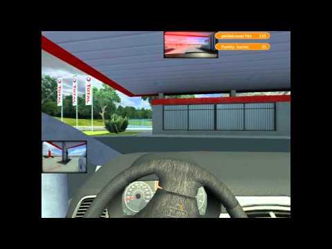 symulator jazdy 2 -gameplay.