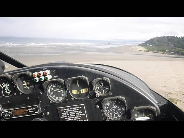 Copalis State Airport Landing