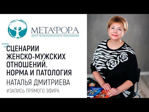 """Наталья Дмитриева """"Сценарии женско-мужских отношений. Норма и патология"""""""
