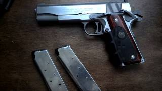Viewer Request video 13: AMT Silverballer Hitman Agent 47 .45ACP (real)