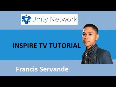 Inspire Tv Tutorials for Unity Network Members
