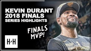 Kevin Durant CLUTCH Full Series Highlights vs Cavaliers 2018 NBA Finals - 2x Finals MVP!