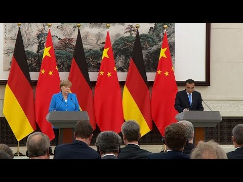 Germany's Merkel defends Iran deal during China visit