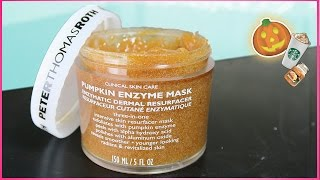 TESTING The Peter Thomas Roth PUMPKIN ENZYME Mask DEMO & REVIEW