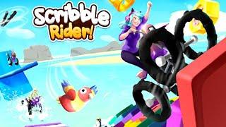 Scribble Rider Full GamePlay Walkthrough (150 Levels)