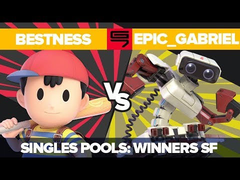 BestNess Vs Epic_Gabriel - Ultimate Singles: Pools R2 Winners Semifinal - Genesis 7 | Ness Vs R.O.B