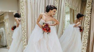 «Королева России» примеряет образ для испанской свадьбы