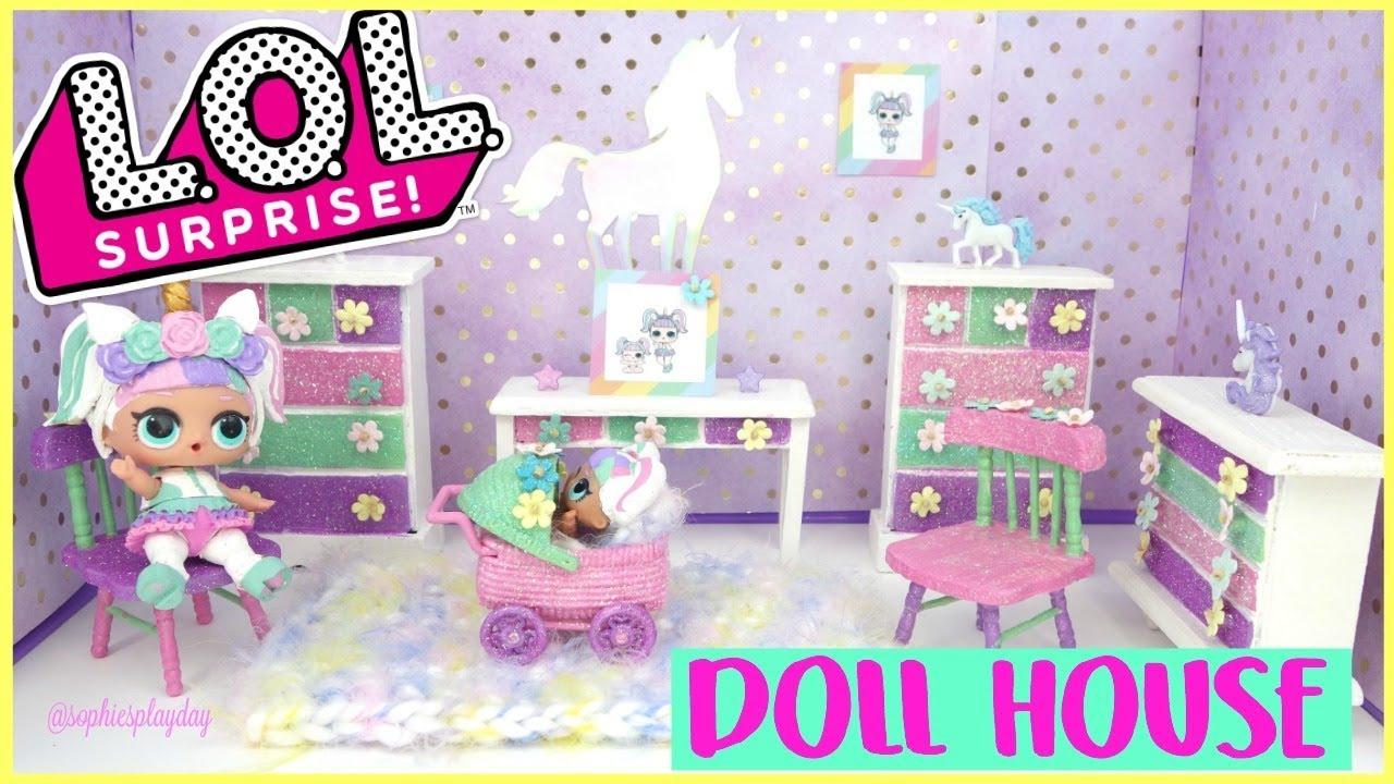Diy Rooms For Lol Dolls - Easy Craft Ideas
