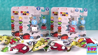 Disney Marvel Tsum Tsum Series 3 Packs Blind Bag Opening Toy Review | PSToyReviews